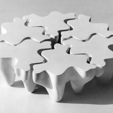 6 TABLES SCULPTURES PUZZLES