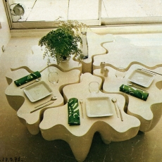 SIX TABLES-SCULPTURES-PUZZLES