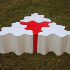 4 TABLES CYLINDRIQUES PUZZLES
