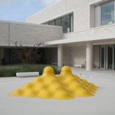 Double Pyramide jaune